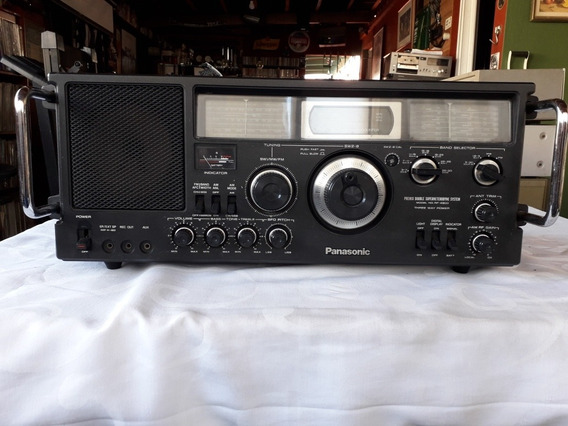 Rádio Escuta Profissional Panasonic Rf 4900 Japonês