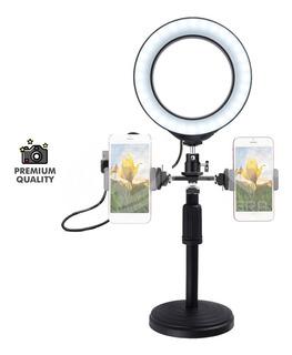 Luz Led Aro 6.2 Cm Para Estudio Youtuber Video Celular Pc