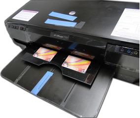 Impressora Hp 7110 Adaptada Bandeja Cartão Crachá Printable