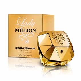 Perfumes Damas Original Lady Million Paco Rabanne Regalos