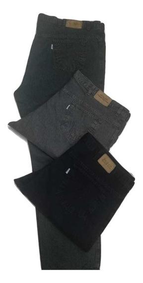 Combo X 2 Jeans Hombre Izzulinlo Talle Especial Del 62 Al 70