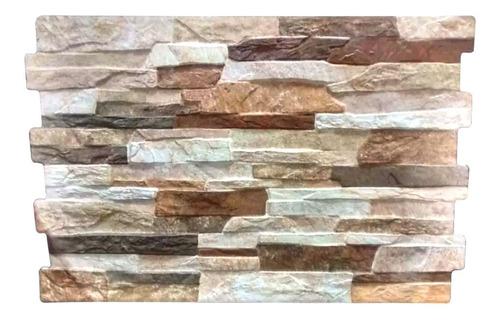 Imagen 1 de 10 de Revestimiento Piedra Pared Pamesa Fileto Rustico Mix Natural