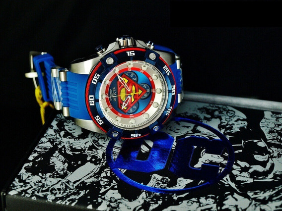 Relógio Invicta Dc Comics Superman Original Modelo 29121