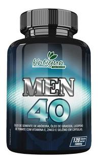 Men 40 Katigua 120 Caps (lipopeno, Selênio, Vit E E Zinco)