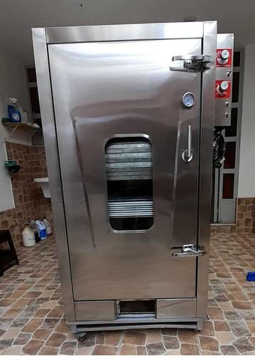 Horno Panadero Pastelero En Acero Inox 8 10 Bandejas Vap Ven