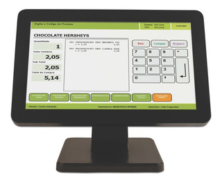 Bematech Le1015w - Monitor Lcd - 15.6