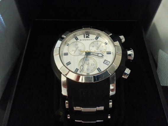 Relógio Givenchy Swiss Crono Ùnico No Brasil 46.5mm Novo