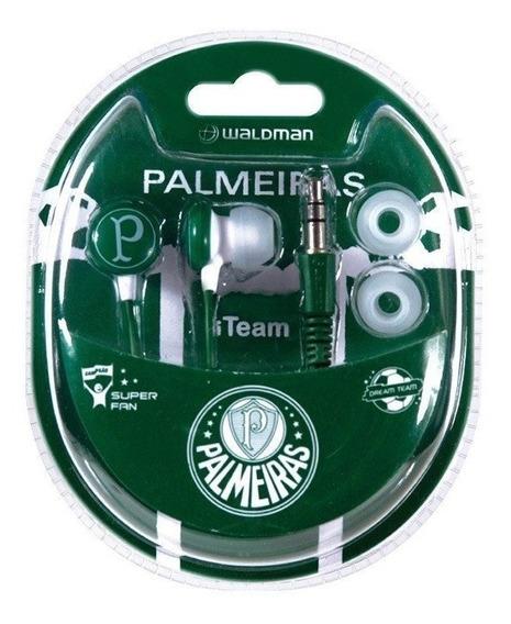 Kit C/2 Fone.ouvido Waldman Sf10 Palmeiras 08790