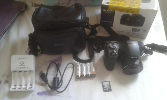 Camera Semi Profissional Sony Dsc H100 Cyber Shot