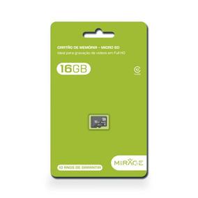 Cartão De Memoria Mirage Classe 10 16gb - Mc142