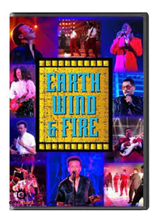 Wind & Fire Earth Live Musical Dvd