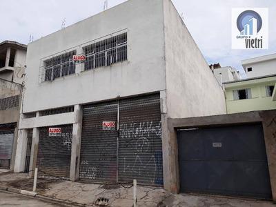 Alugo Salão Comercial, Vila Zat, 190m2 - Sl0144