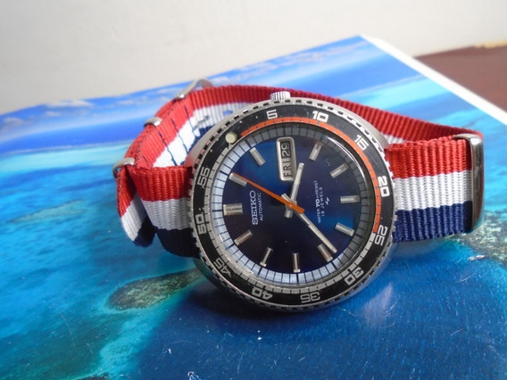 Seiko Diver Antigo Ref 7006 8030 Cal 7006a 1973 Raridade