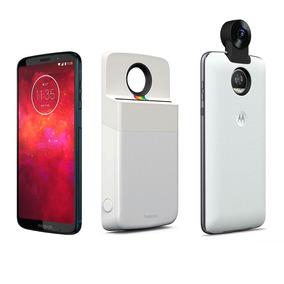 Motorola Z3 Play + Mod Polaroid + Mod Camara 360°