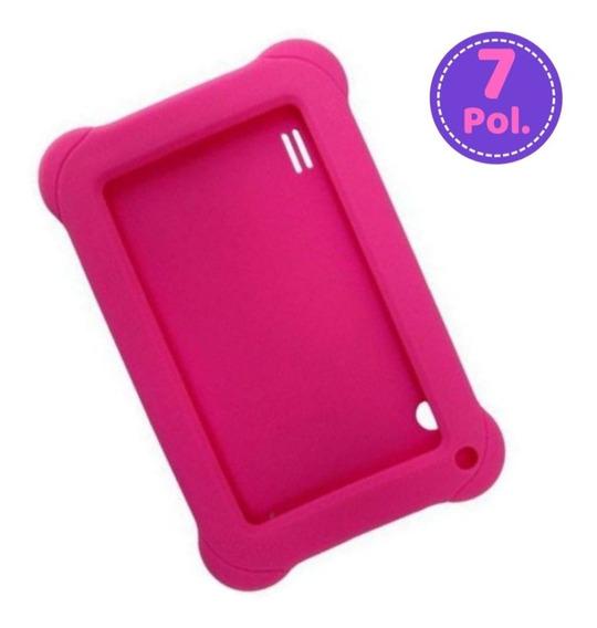 Capa Emborrachada Para Tablet 7 Polegadas Case Multilaser