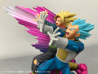 Master Stars Diorama2 Vegeta Y Trunks-dragon Ball-banpresto