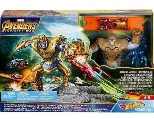 Pista Hot Wheels Avengers Vs Thanos