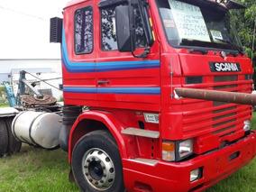 Cavalo Scania 142 R Com Toda A Mecânica Do 113, Ano 1996