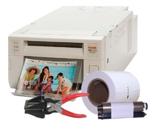 Impressora Kodak 305 + 320 Fotos + Cortador Foto 3x4