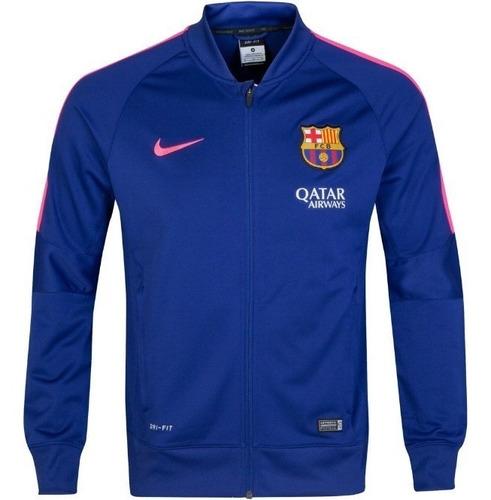 Chaqueta Nike Fc Barcelona Squad Sideline Knit - Azul/rosa