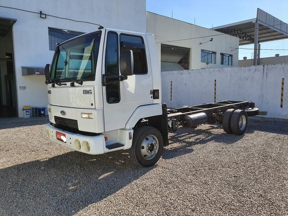 Ford Cargo 816 - 2013/2013 - Único Dono - Nf - Excel. Estado