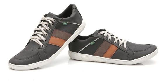 Sapato Sapatênis Casual Masculino Couro Ecológ Varias Cores