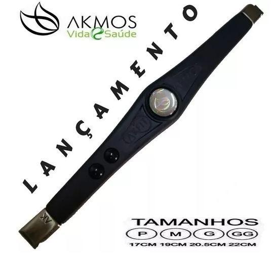 Pulseira Magnetica Akmos I9 Fitness (leia A Descrição)
