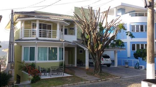 Casa Com 4 Dormitórios À Venda, 453 M² Por R$ 1.850.000,00 - Piratininga - Niterói/rj - Ca0395