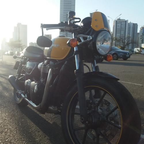 Imagem 1 de 6 de Triumph Street Cup 900cc Café Racer Exclusiva Moto P Coleção