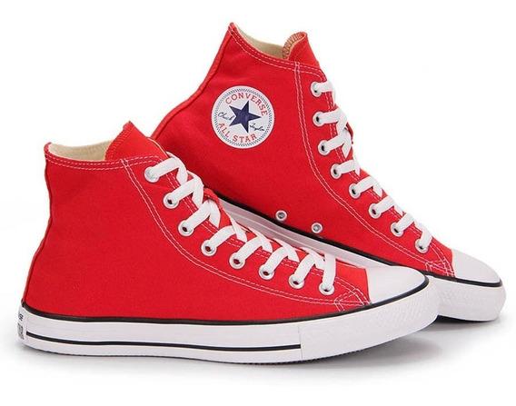 Tenis Feminino All Star Converse Core Hi Ct112 Vermelho