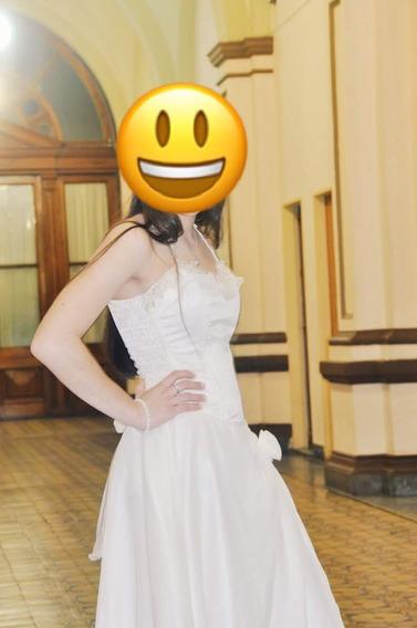 Fino Vestido De Novia Apto Para 15 Años