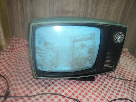 Tv Philco Ford Transistorizada Antiga/modelo Safari/funcion