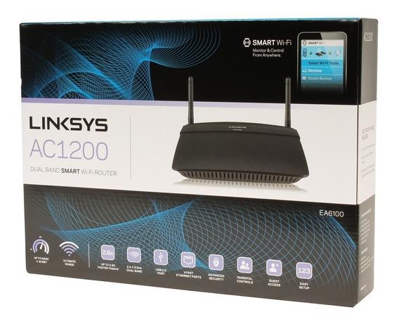 Roteador Linksys Ea6100 Ac1200