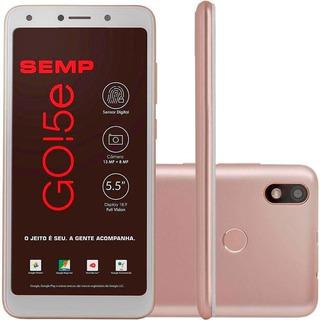 Celular Smartphone Semp Go!5e Tela 5,5 Pol Câmera 16gb 4g