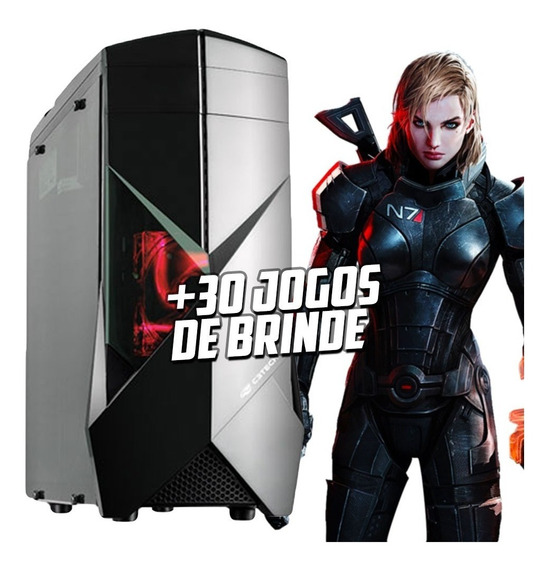Cpu Gamer Core I5 / 16gb / 1tb / Gtx 1050 / Wi-fi / 500w