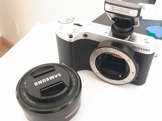 Samsung Nx500 - Rara Câmera Profissional Da Samsung
