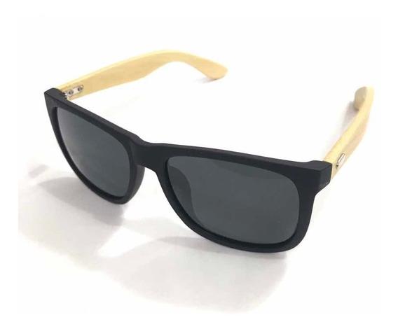 Óculos De Sol Madeira Original Trend-21005 Polarizado