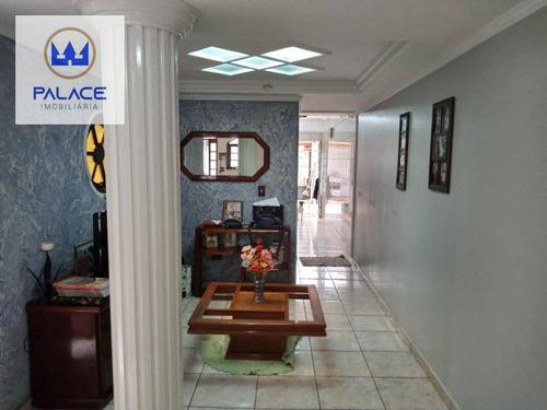 Casa Com 2 Dormitórios À Venda, 146 M² Por R$ 340.000,00 - Jardim Nova Iguaçu - Piracicaba/sp - Ca0740