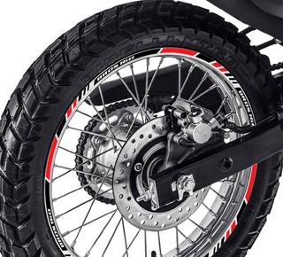 Friso Adesivo Refletivo Roda P2 Honda Moto Bros 160