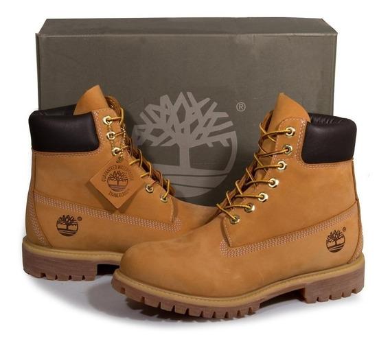 Bota Timberland Yellow Boot 6 Premium Waterproof Novo