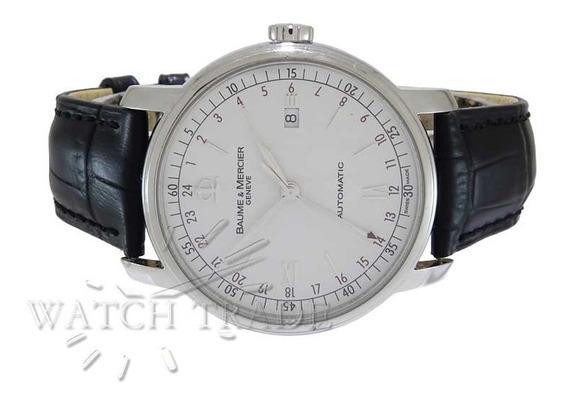 Relógio Baume E Mercier Classima Gmt Ref.: Moa08734
