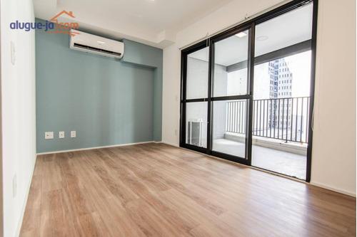Apartamento Com 1 Dormitório Para Alugar, 48 M² Por R$ 3.300,00/mês - Santa Efigênia - São Paulo/sp - Ap12547