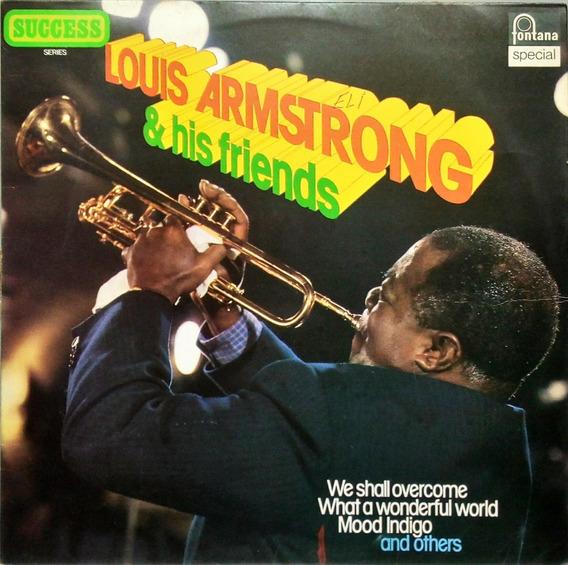 Louis Armstrong Lp Louis Armstrong E His Friends 13986