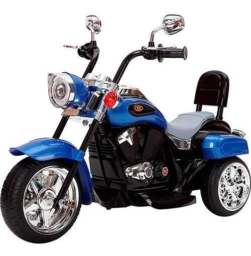 Moto Elétrica Infantil Tr1501 Azul 6v - Brink
