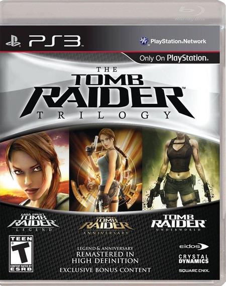 Tomb Raider Trilogy Ps3 Físico Nuevo