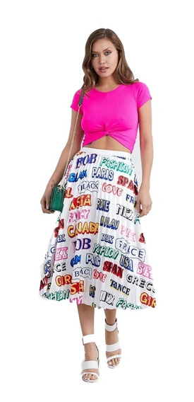 Faldas Largas Plisada Falda Tableada Paises Fashion Calidad