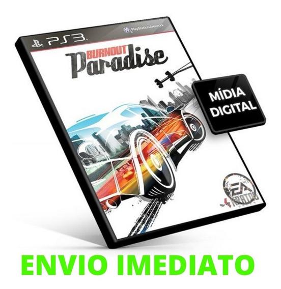 Burnout Paradise Ps3 Mídia Digital Envio Já