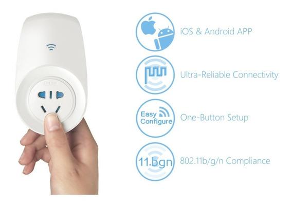 Broadlink Sp2 Tomada Medição Energia Automação Residencial Sem Fio Wireless - A Casa Inteligente