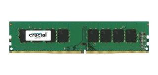 Memoria Para Pc Crucial Ddr4 8gb 2400 Mhz Box