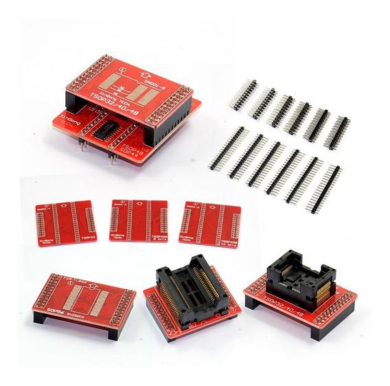 Adaptadores Tsop48/40/32 Sop44/56 Minipro Tl8866